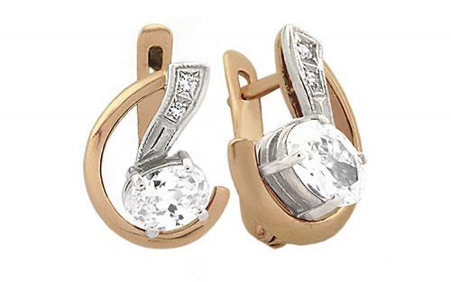 Золоті сережки СВ780