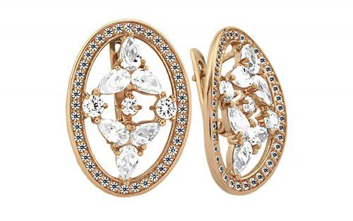 Золоті сережки СВ806