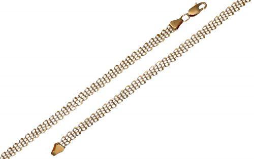 Золотой браслет БС382